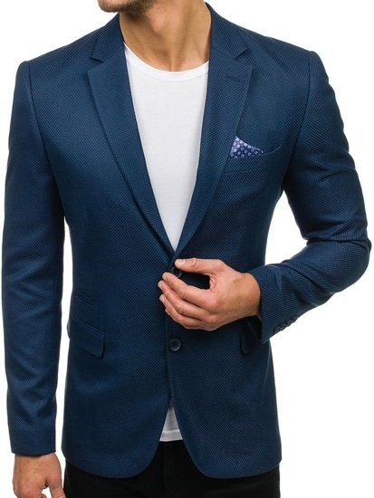 elegante NIEBIESKI Bolf Giacca azzurra uomo 2222 d'abito da Cg5qP
