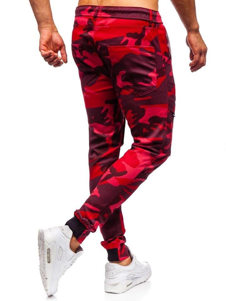 Stile Street da Uomo Mix 6F6 Motivo Mimetico BOLF Pantaloni Sportivi Tipo Jogger